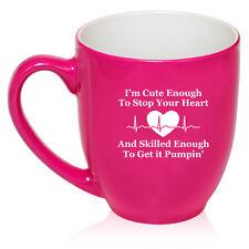 16oz Bistro Mug Ceramic Coffee Tea Glass Cup Cute Skilled Nurse