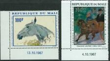 REPUBLIC OF MALI - 1967 'TOULOUSE-LAUTREC PAINTINGS' Pair MNH SG158-59 [A2929]