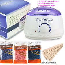 Hair Removal Depilatory Wax Warmer Machine+300G Hard Wax Bean+10 sticks SALES