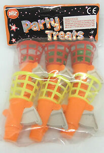 MINI CLICK & CATCH 6 PACK BRAND NEW PARTY BAG TOYS - FAVOURS