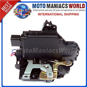 FRONT LEFT Door Lock Mechanism VW GOLF 4 MK4 BORA PASSAT B5 SKODA OCTAVIA 1 MK1
