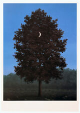 Le seize septembre by Rene Magritte Art Print 28x20 Tree Moon Poster