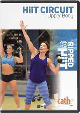 EXERCISE DVD - Cathe Friedrich RIPPED WITH HIIT CIRCUIT UPPER BODY
