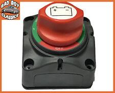 PER BARCA BATTERIA isolante Cut Off Switch 12V 24V 4 POSIZIONE