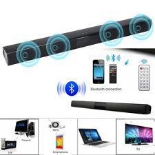 Bluetooth Wireless TV Soundbar 4Speaker 3D Sound Bar Home Theater Subwoofer RCA