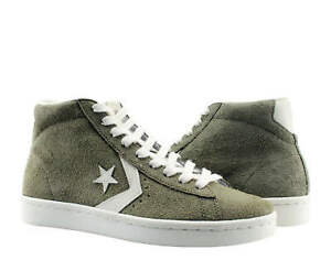 Converse CT AS Pro Leather Mid Medium Olive/Egret Men's Sneakers 157690C Size 8