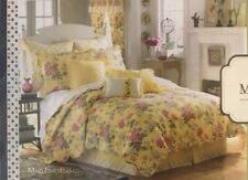 New Mary Jane's Farm Home King Quilt Sunshine Bouquet Coverlet Bedspread Floral
