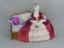 ROYAL DOULTON BELLE O`THE BALL FIGURINE, HN 1997, EARLY BACKSTAMP.