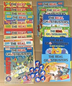 The Real Ghostbusters Comics (issue 1), Pin Badges, Storybooks & Annuals