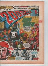 2000AD PROG. # 47 - JUDGE DREDD, DAN DARE, 1st VISIBLE MAN ( 14th JANUARY 1978 )