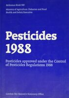 Pesticides 1988 (Reference Books), Agriculture,Fish.& Food,Min.of, Very Good Boo