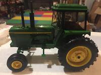 John Deere 4630 Tractor w Cab Plow City Farm Toy Show 1/16 Scale NIB by Ertl