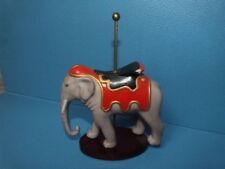 1988 Franklin Mint Fm Tfm Treasury Of Carousel Art Porcelain Figurine Elephant