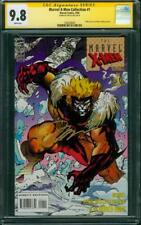 Marvel X Men Collection 1 CGC 9.8 SS Jim Lee Wolverine Trading Card art