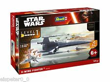 STAR WARS AEREO DA CACCIA Resistance X-Wing Fighter, Revell Kit di costruzione