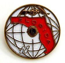 Pin Spilla Lions International Florida 68 cm 3,2