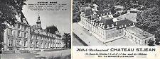Br45102 Hotel Restaurant Chateau St jean st jean le pziche Depliant 6 Pages Form