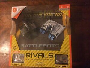 HexBug Battlebots Rivals Blacksmith AND BiteForce Battle Strategy Remote Control