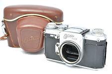 Wirgin: Edixa Flex (1958) 35mm SLR M42 Mount Film Camera