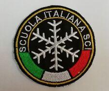 PATCH TOPPA SCUOLA ITALIANA SCI CM 7 TERMOADESIVA