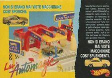 X2108 HotWheels Lav'automagic - Mattel - Pubblicità 1990 - Advertising