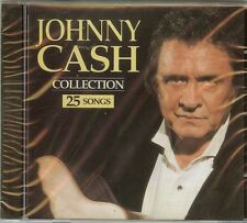 JOHNNY CASH - COLLECTION - 25 SONGS - CD - NEW