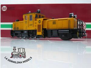 DV406 ESCALA G DIGITAL LGB 20670 DIESELLOK SCHOEMA Schienenreinigungslok / OVP