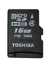 JOB LOT 5 x 16GB Micro SD Toshiba Mobile Memory Cards