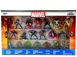 Marvel Nano Metalfigs 20 Pack Wave Series 6 | 1.65 Inch Die-Cast Metal Figures