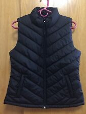 GAP Women's Warmest Puffer Vest Outerwear Size Medium M Black NWT