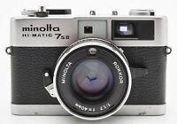 Minolta Hi-Matic 7s II Sucherkamera Kamera Analogkamera