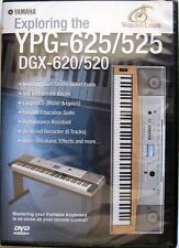 Yamaha DVD for YPG-625 YPG-525 DGX-620 DGX-520 Keyboards, New Sealed Condition