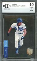 1993 sp #273 JOHNNY DAMON kansas city royals rookie card BGS BCCG 10