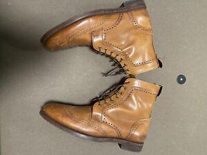 Allen Edmonds - Dalton Boot - Walnut - Size 9.5D