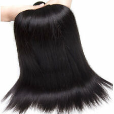 3Bundles 150g 100%Brazilian Remy Virgin straight wave Human Hair Extensions weft