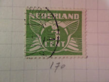 PAYS-BAS - 1926-28, timbre CLASSIQUE 170, type n, oblitéré, VF used STAMP