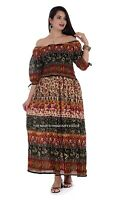 Womens Summer Boho Maxi Dress Bohemian Long Evening Cocktail Party Beach Dresses