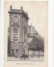 Paris Ministre de la Guerre 1908 Postcard France 334a