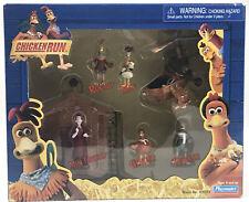 Chicken Run Figures Set Playmates 40283 Rocky Ginger Fowler Mac Mrs Tweedy NEW