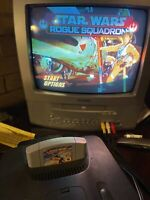 N64 Nintendo 64 Star Wars: Rogue Squadron, Cartridge Only, Tested