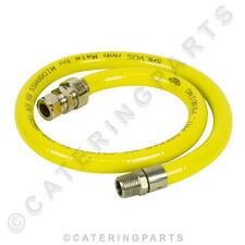 1M Lungo TUBO KIT flessibile del gas Connettore per fisso piano cottura