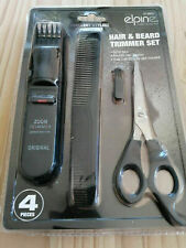 HAIRDRESSING SCISSOR COMB AND TRIMMER SET
