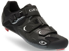 Giro Trans Carbon Road Bicycle Bike Cycling Shoes - Black - 48 (US 13.5)