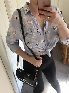 Womens TU Sexy Floral Shirt Blouse Top Uk 8-10