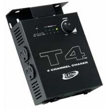 Elation T4 Chase-Controller  4 Kanal Lauflichtsteuerung Automatik , Sound,