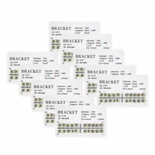 10 kits Dental orthodontic mental bracket brace standard roth slot 022 345hooks