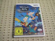 Phineas und Ferb Quer durch die 2 Dimension für Nintendo Wii und Wii U *OVP*