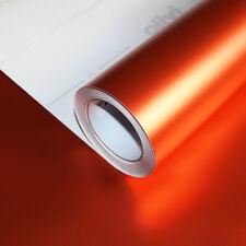 Allvi Car Wrapping Film Satin Chrom Xtreme Orange Autofolie FlexChrome 17,92€/m²