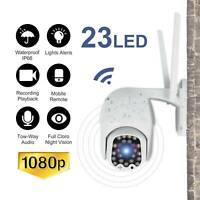 Wireless 1080P WIFI IP Camera Outdoor CCTV HD PTZ Smart Home Security IR 360 Cam