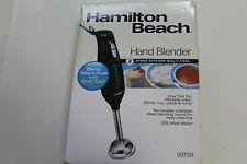 NIB Hamilton Beach 2-Speed KITCHEN Hand Blender 59757 black FAST FREE SHIPPING